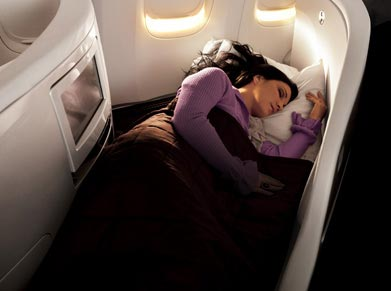 Air New Zealand Business Premier class