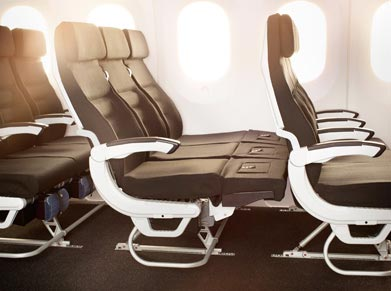 Air New Zealand Economy Skycouch class