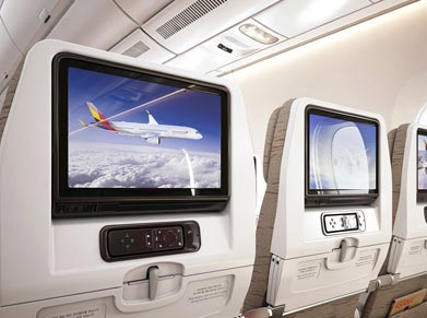 Asiana Airlines Economy Class