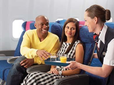British Airways World Traveller