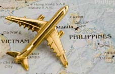 Plane Over Phillipines