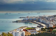 Algiers the capital city