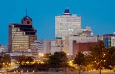 Downtown of Memphis