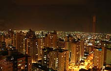 Goiania at night