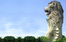 Merlion Sentosa Island