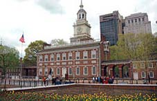 Philadelphia in hall