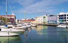 The port of Bridgetown