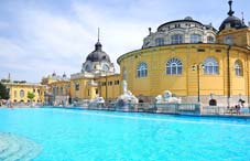 The Szechenyi Bath in Budapest