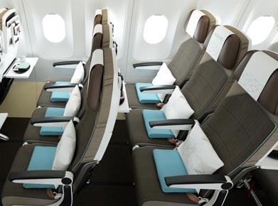 Etihad Airways Coral Economy Class