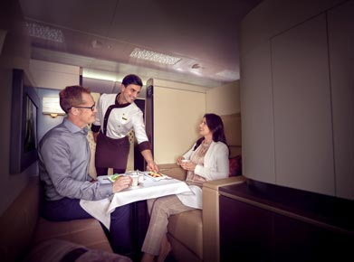 Etihad Airways Diamond First Class
