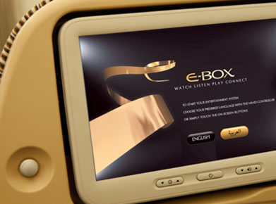 Etihad Airways Inflight Entertainment