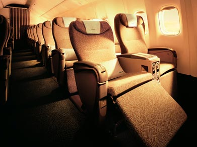 EVA Airways Elite Class
