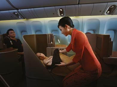 Garuda Airlines Business class
