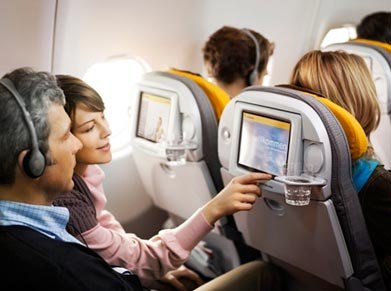 Lufthansa In-Flight Entertainment