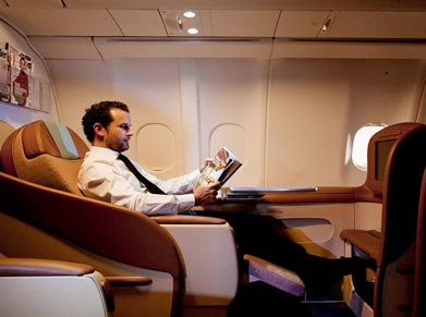 Oman Air Business Class