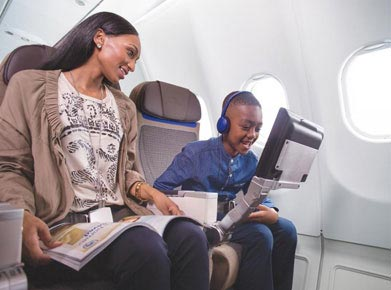 South African Airways In-flight Entertainment