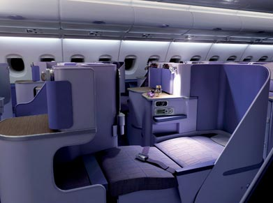 Thai Airways Royal Silk-Class
