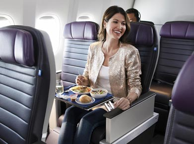 United Airlines Premium Plus Class